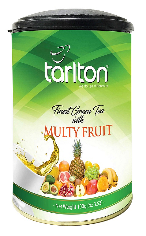 TARLTON Green Multifruit dóza 100g/7033