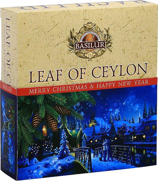 BASILUR Leaf of Ceylon Vianočný 010 Assorted prebal 75g/4981