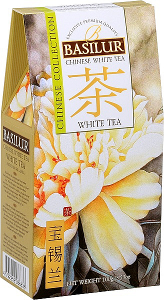 BASILUR Chinese White Tea papier 100g/3824