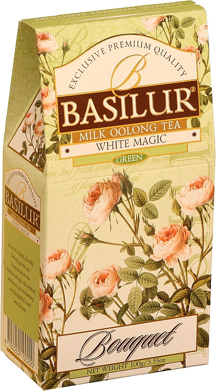 BASILUR Bouquet White Magic papier 100g/7644