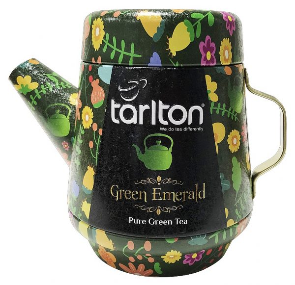 TARLTON Tea Pot Green Emerald Green Tea plech 100g/7082 Plech
