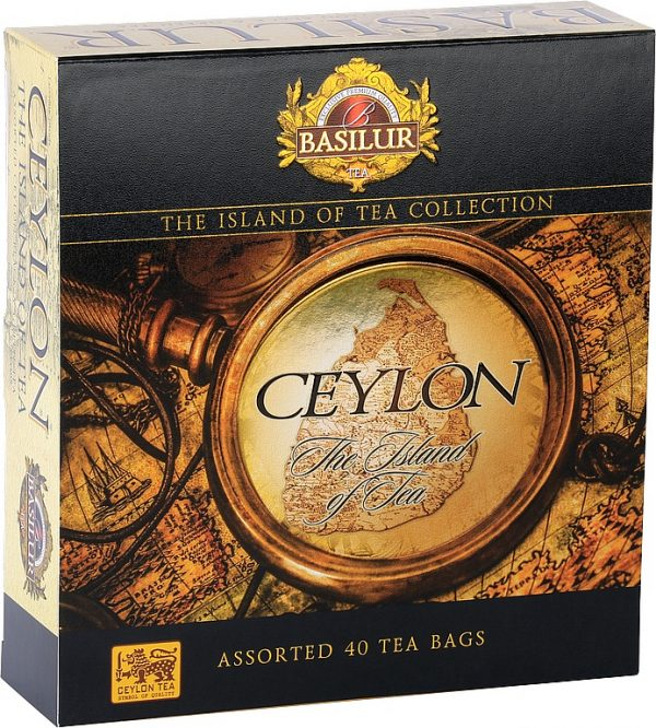 BASILUR The Island of Tea Assorted prebal 40 gastro sáčkov/7696