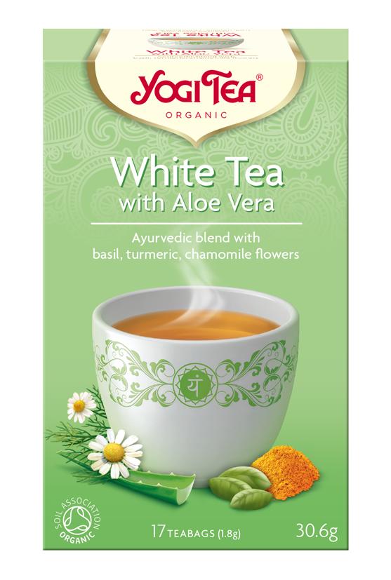 YOGI TEA BIO čaj biely s aloe vera 17×1,8 g